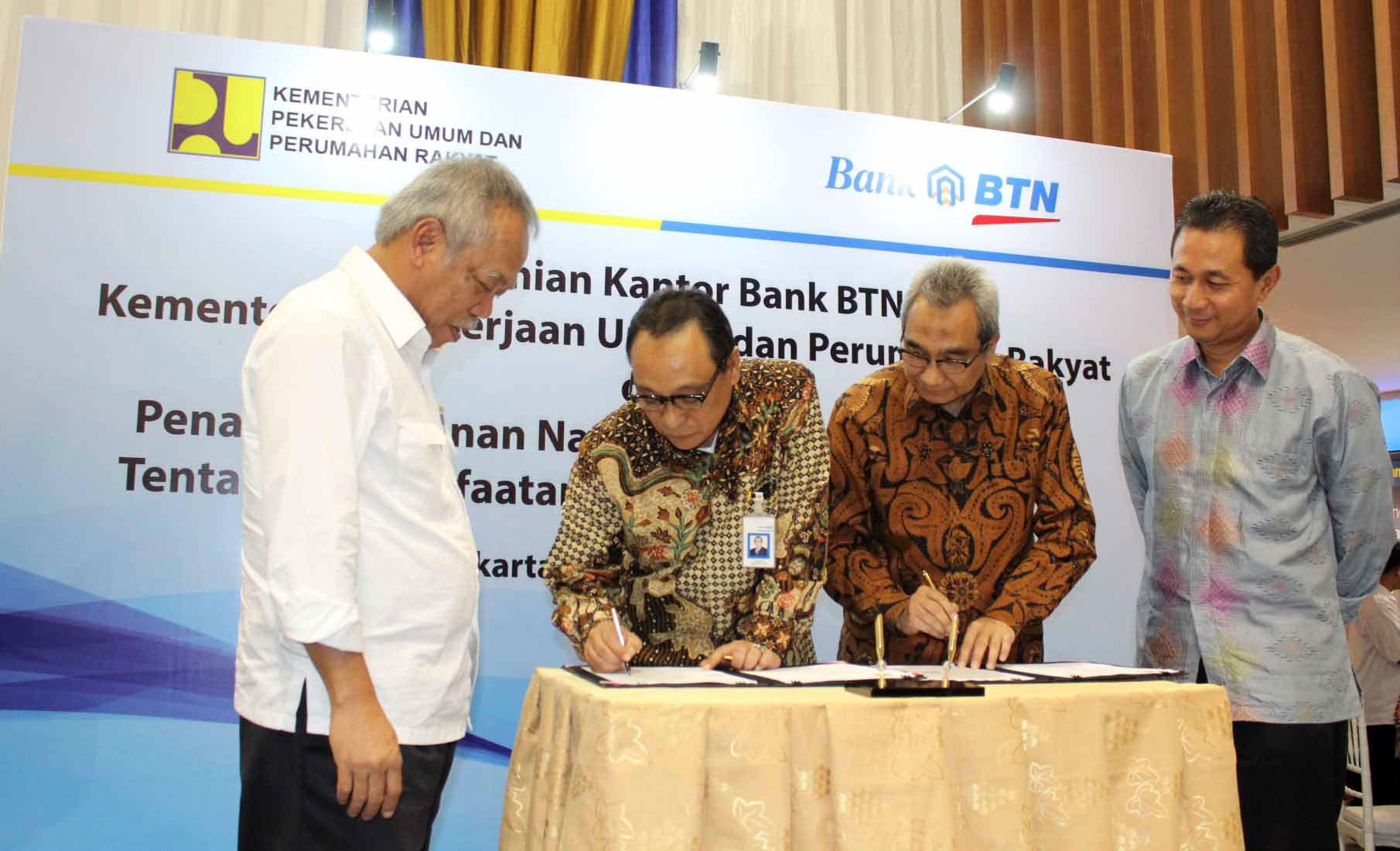 BTN dan Kementerian Perumahan Rakyat